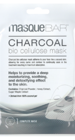 Bio Cellulose Charcoal Mask