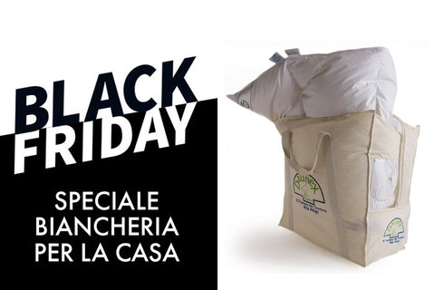 Black Friday biancheria casa