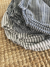 On Sale - Stripe Linen Blooms