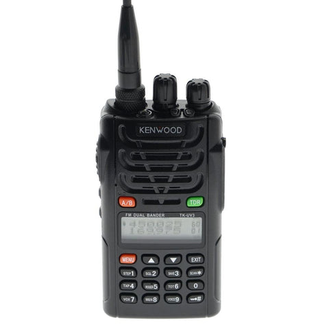 Kenwood TK-UV3 Dual band Multifunction VHF and UHF radio