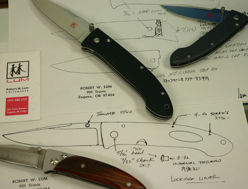 Bob Lum Design Knife Collections