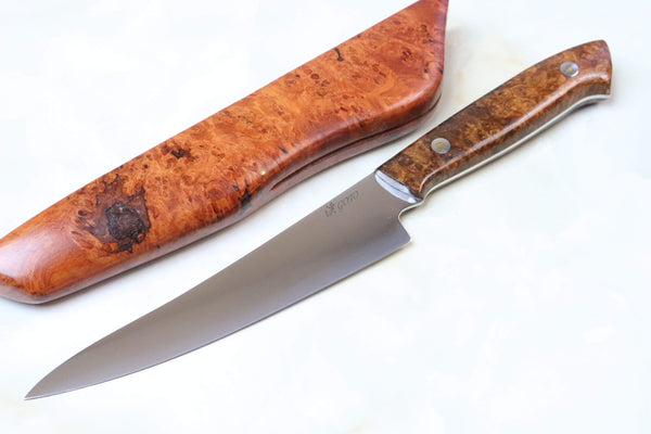 Kei Goto GH-100B Custom Kitchen Knife | Utility Chef Knife