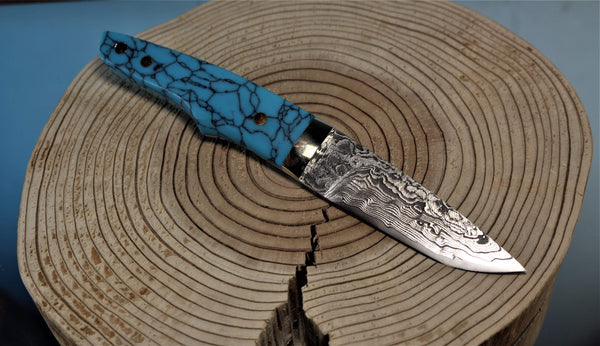 "Mr. Itou  IT-2 Utility Hunter ""Turquoise Handle"""