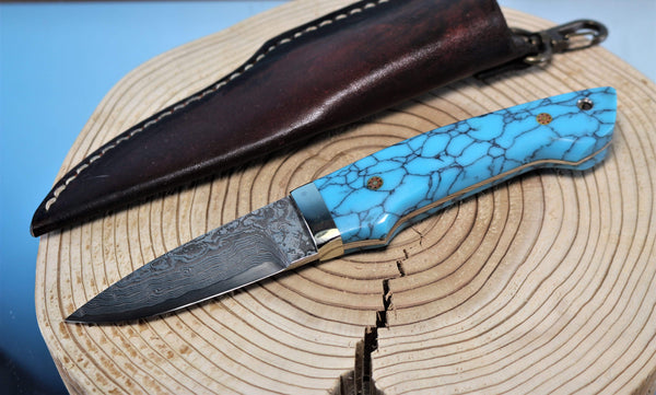 "Mr. Itou  IT-3 Utility Hunter ""Turquoise Handle"""