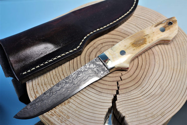 "Mr. Itou  IT-34 Utility Hunter ""Mammoth Ivory  Handle"""