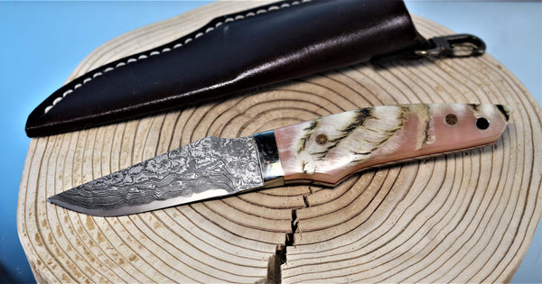 "Mr. Itou  IT-8 Utility Hunter ""Sheep Horn Handle"""