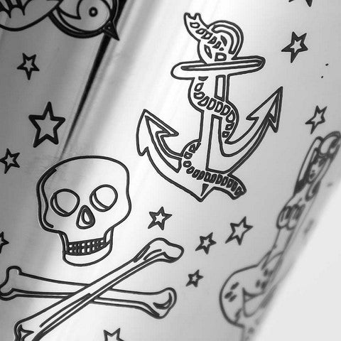 Coctelera Boston Tattoo Tin on Tin 75 cl - utensilioscocteleria