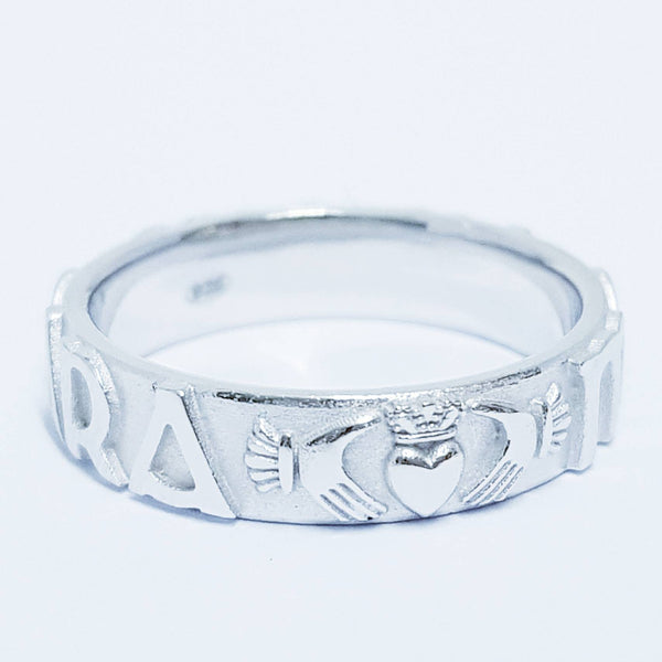 My Soul Mate Claddagh ring, Mo Anam Cara Ring, Claddagh Band