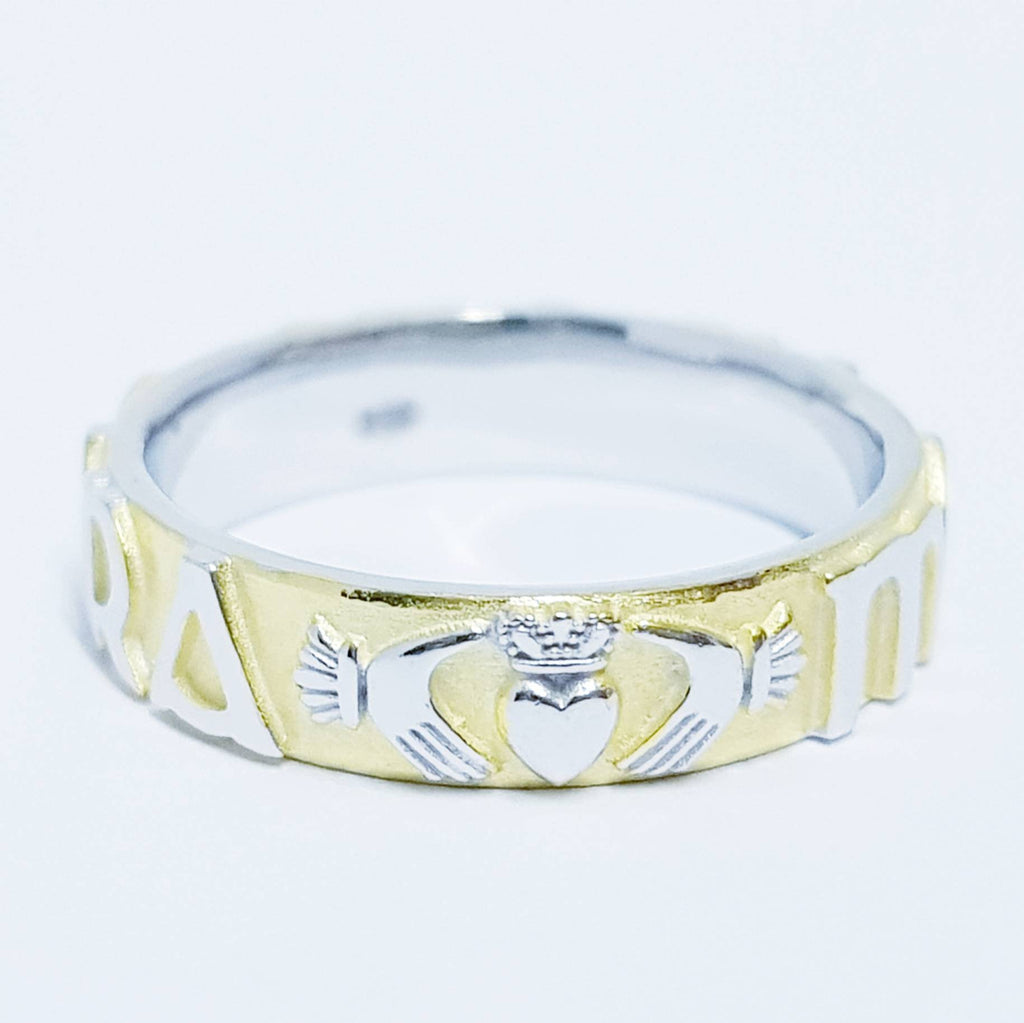 Claddagh ring, Mo Anam Cara Ring, Claddagh Band, Irish ring