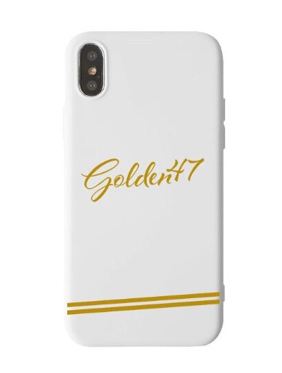 Iphone case - White - golden47apparel