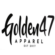 Est.2017 - Black, gold and white - golden47apparel