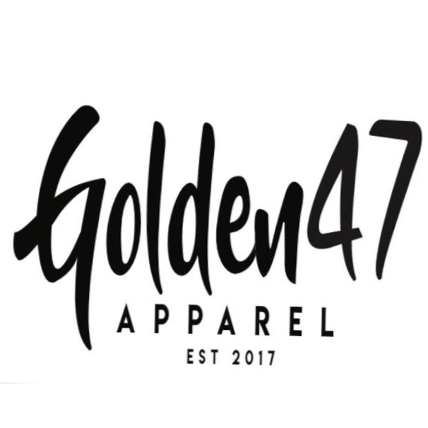 Est.2017 - Blue, white and black - golden47apparel