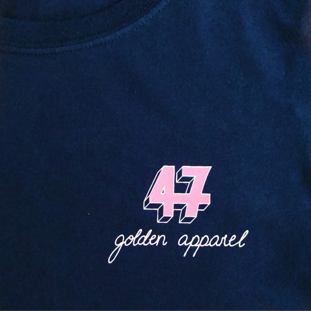 SIGNATURE - Navy Blue - golden47apparel