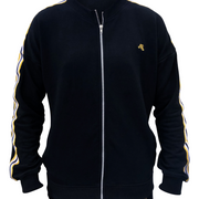 Pitch Black - Unisex Full-zip sweater - golden47apparel