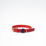 The Timothy Dog Collar - Red