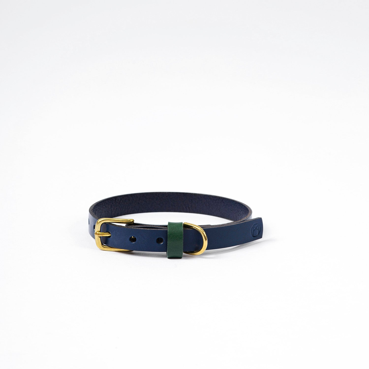The Timothy Dog Collar - Navy