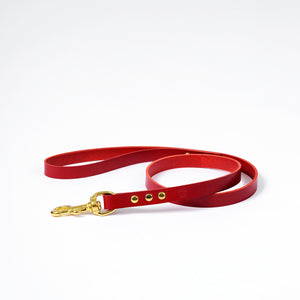 The Mowgli Dog Lead - Red