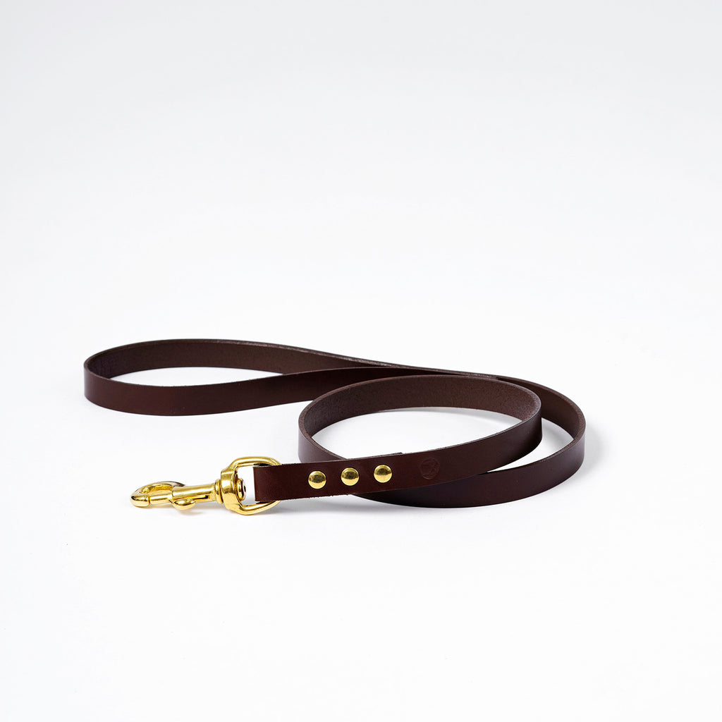 The Mowgli Dog Lead - Brown
