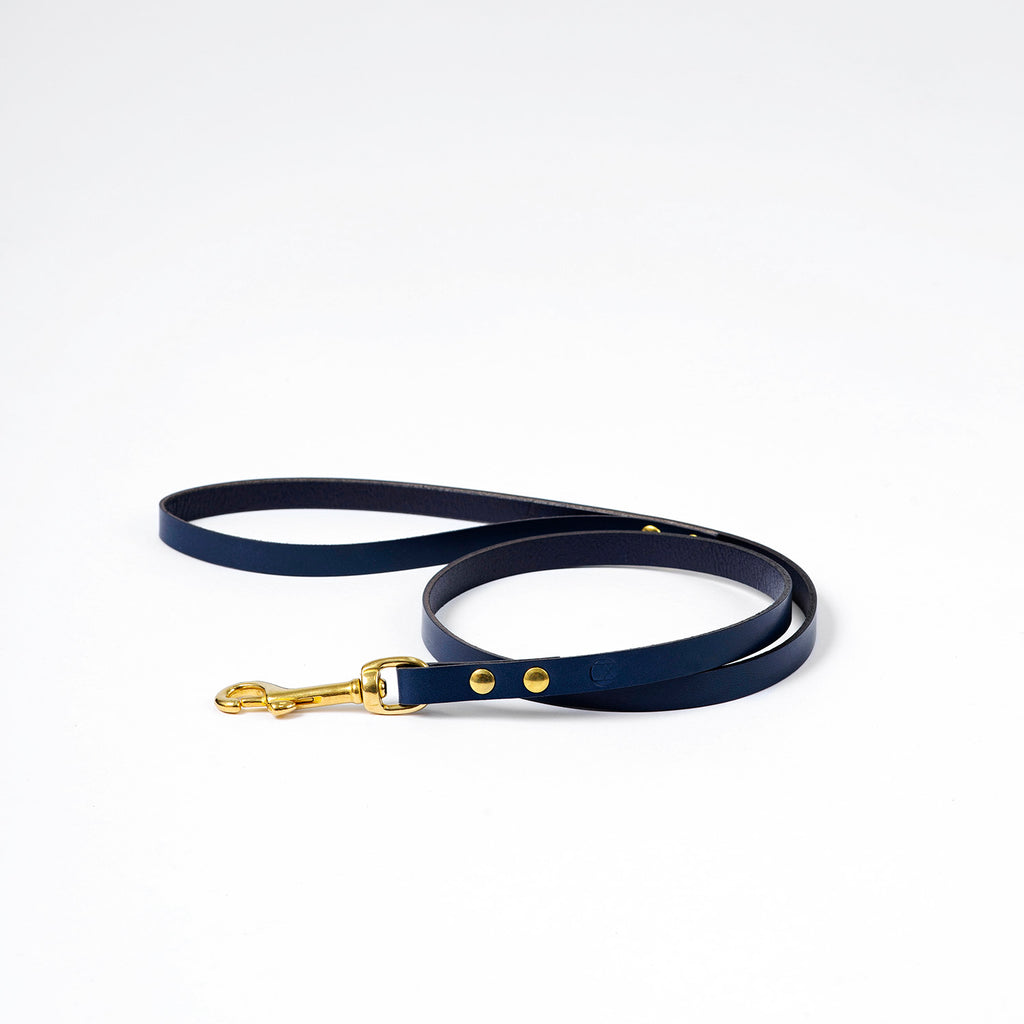 The Timothy Dog Lead - Navy