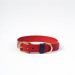 The Mowgli Dog Collar - Red