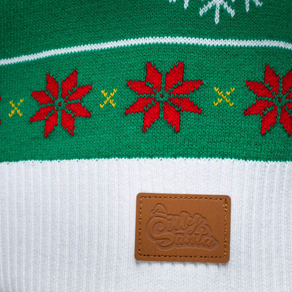 Gävlebocken (Dam) Christmas Sweater Womens SillySanta