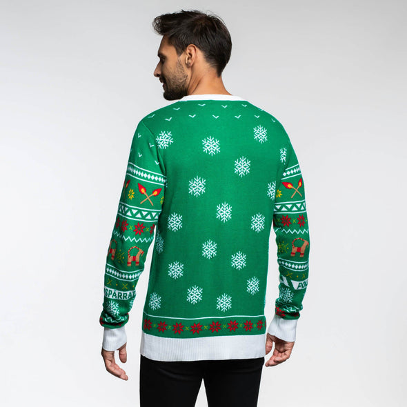 Gävlebocken (Herr) Christmas Sweater Mens SillySanta
