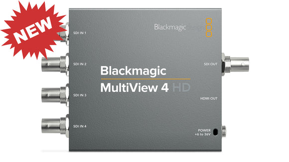 NEW Blackmagic Multiveiw 4HD Front Full www.parallellight.com