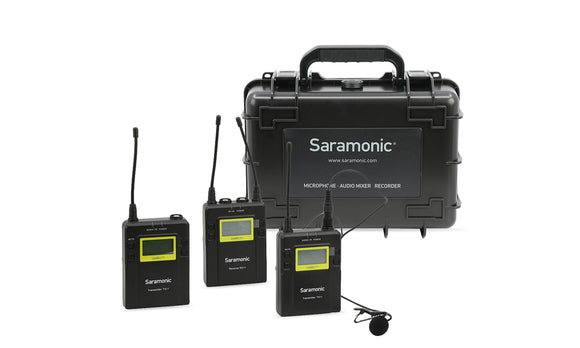 Saramonic Uwmic11TH-Set2 11-Channel New Digital UHF Wireless Lavalier Microphone System