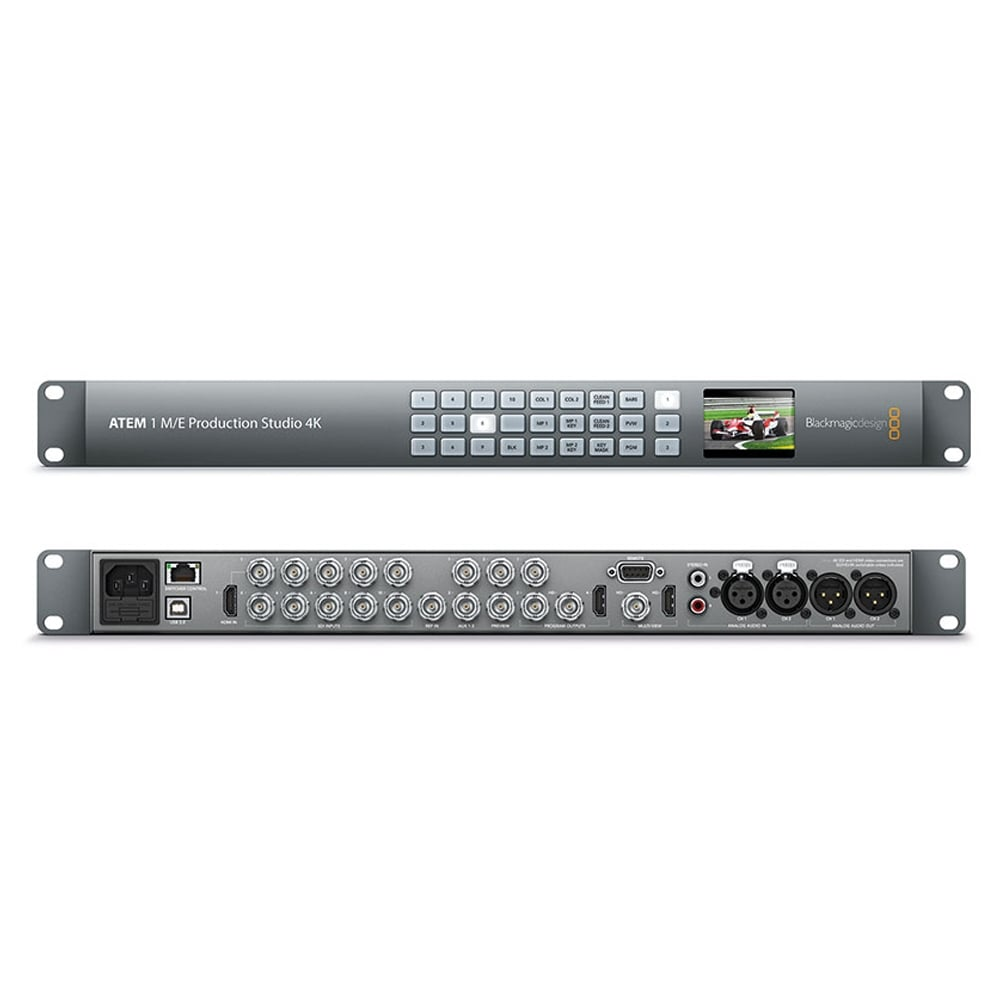 Blackmagic Design Atem 1 M E Production Studio 4k Option Part