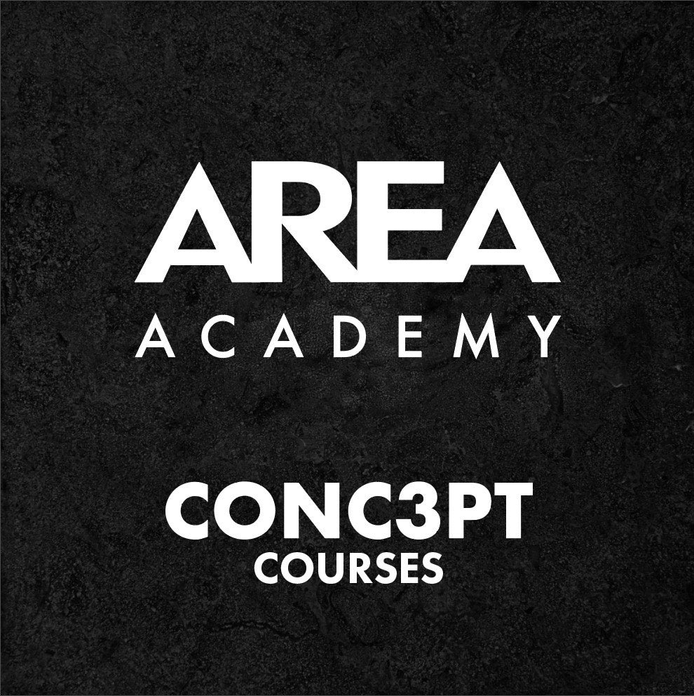 """CONC3PT"" Course by AREA Academy - Mid length men's scissor & razor work."
