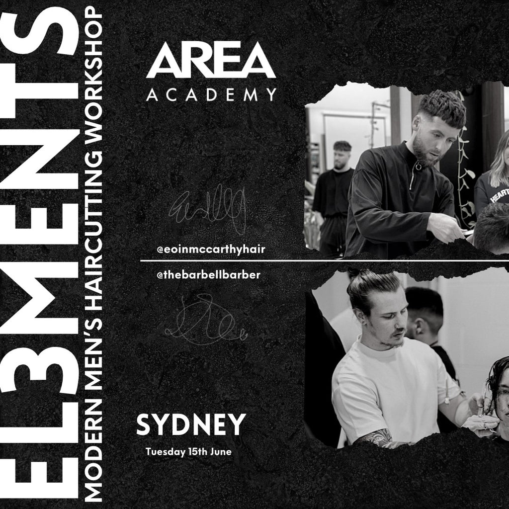 "AREA ACADEMY ""EL3MENTS"" SYDNEY 1 DAY WORK SHOP - Tuesday 15Th June  2021"