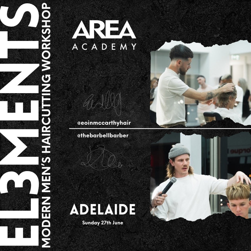 "AREA ACADEMY ""EL3MENTS"" ADELAIDE 1 DAY WORK SHOP - SUNDAY JUNE 27TH 2021"
