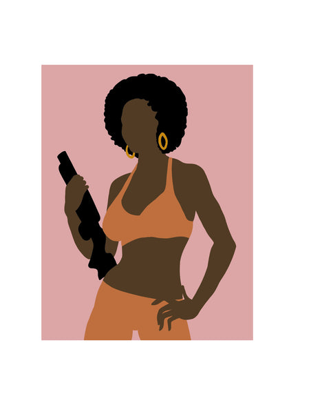 Coffy Movie Icon • Wall Art Print