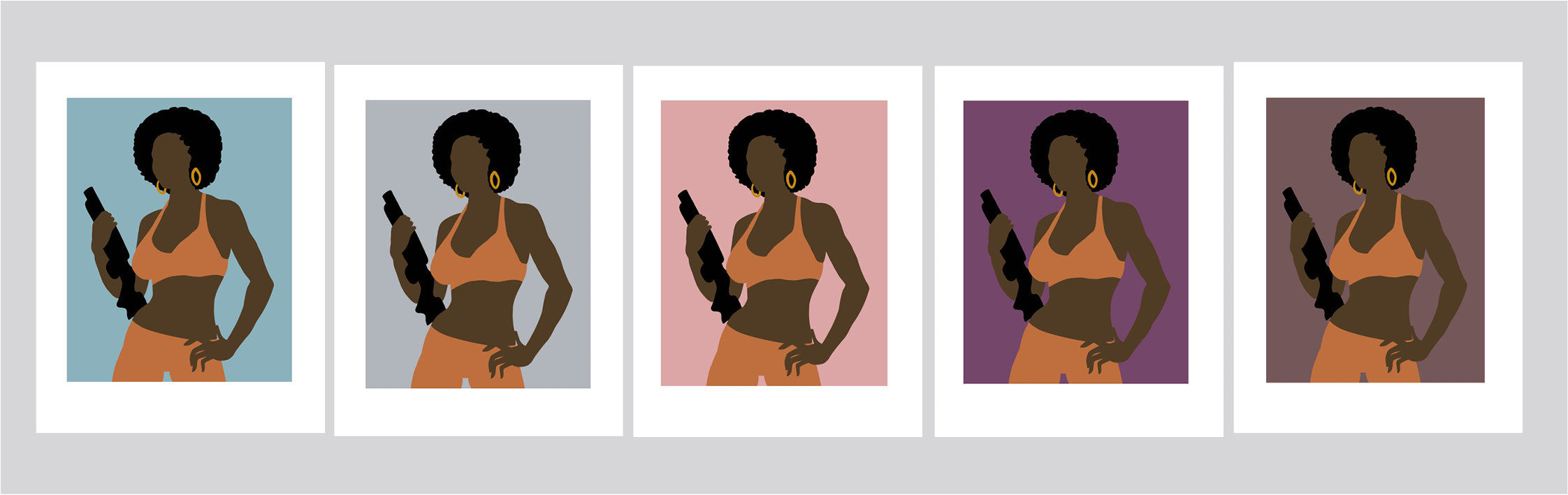 Coffy Movie Icon Print
