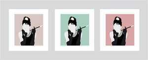 Holly Golightly Breakfast At Tiffany's Print