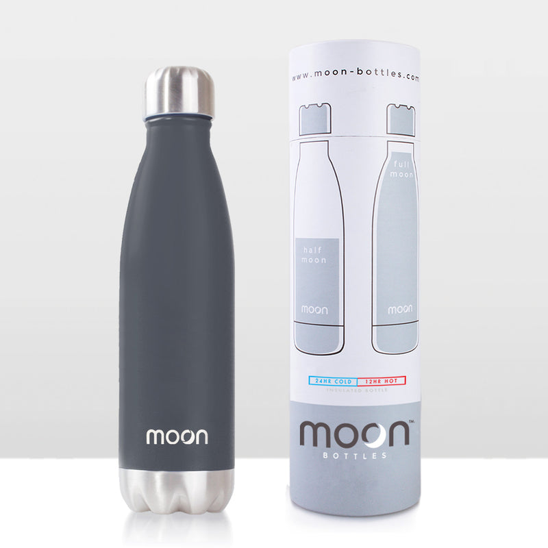 Moon Bottle 750ml - Insulated, Stainless Steel Water Bottles