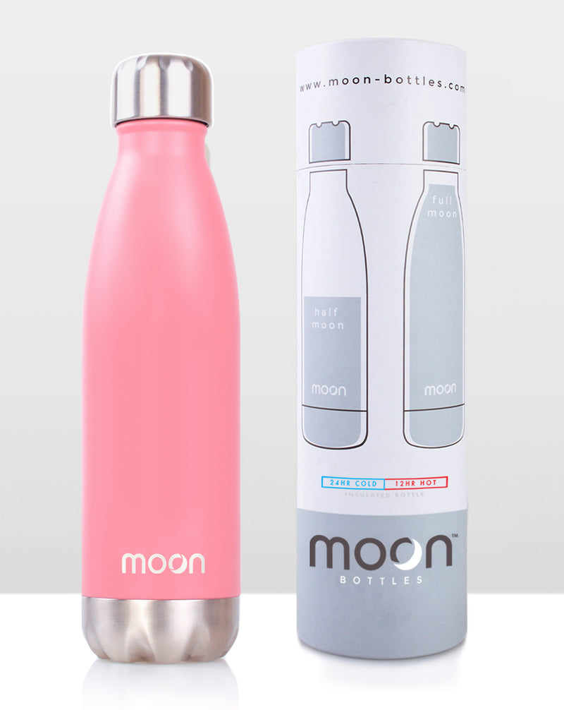 Moon Bottle 750ml - Soft Pink