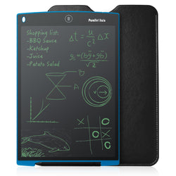 Parallel Halo 12-Inch LCD Writing Tablet- Drawing and Writing Board - Useful at the Office - Great Gift for Kids(Blue)
