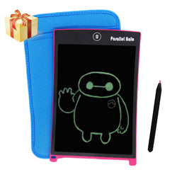 Parallel Halo 8.5-Inch LCD Writing Tablet- Drawing and Writing Board - Useful at the Office - Great Gift for Kids(Rose red)