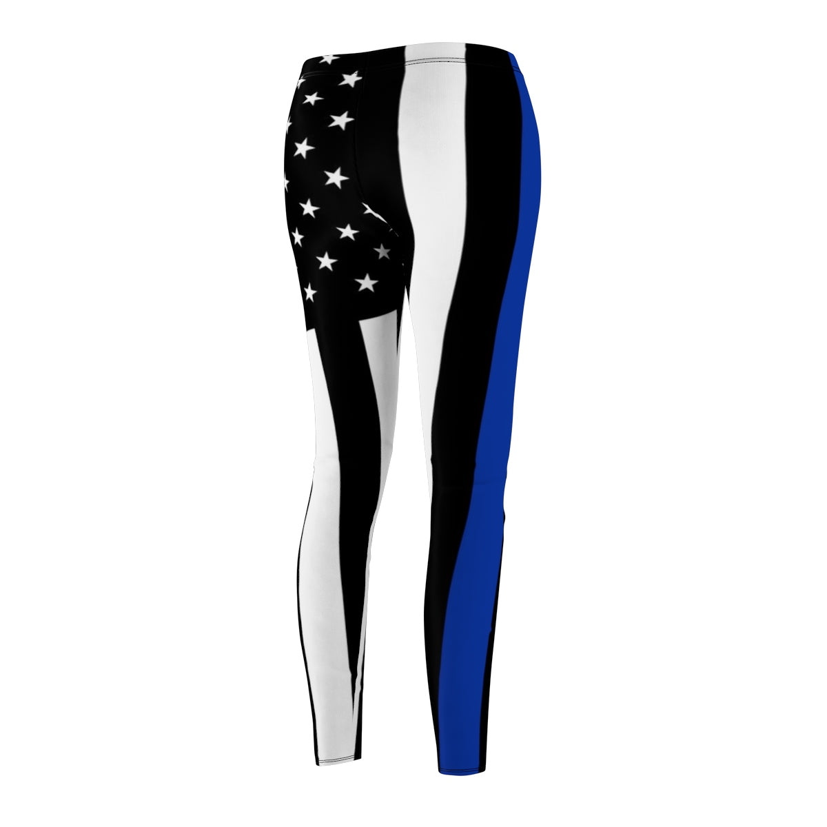 Thin Blue Line, American Flag Leggings