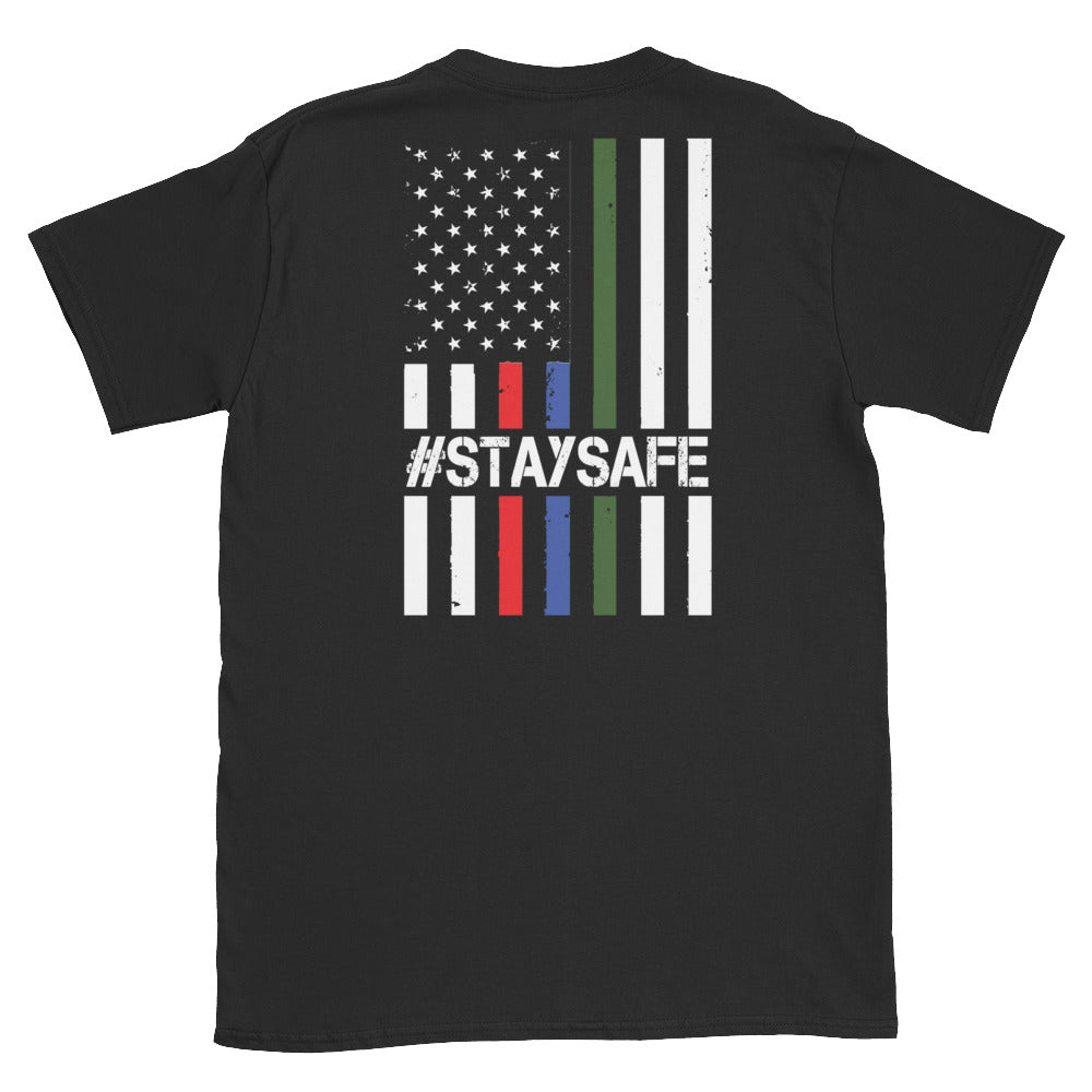 Stay Safe Flag, Charity Tee