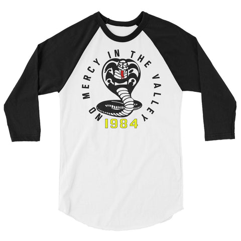 No Mercy in the Valley 3/4 Raglan