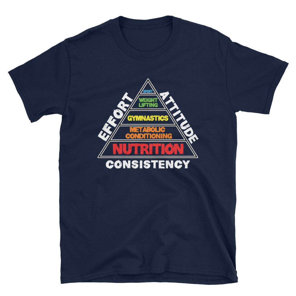 Fitness Success Pyramid Soft-Style Tee