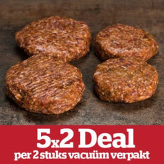 5x2 Deal Hamburger 100 gr