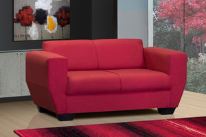 Two Seater Couch, Vicky Napo Red