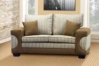 Two Seater Couch, Casablanca Chenille Choc