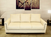 Three Seater Couch, Ares Napo Ivory