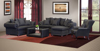 Lounge Suite, Sharka Black