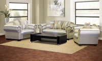 affordable three piece beige couch