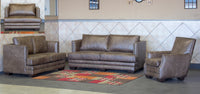 4 PIECE BATELEUR LOUNGE SUITE